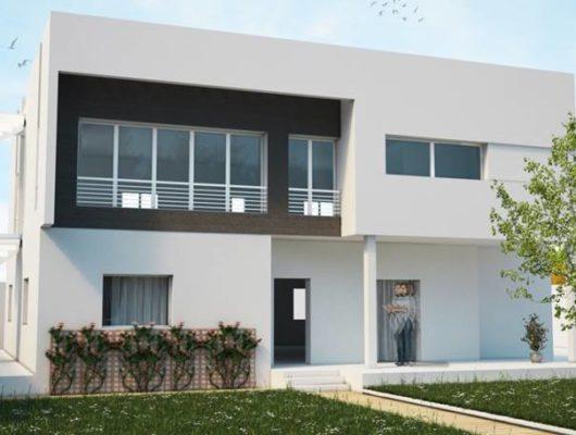 Extension villa boulakbech a la goulette sogepbatiment for Extension villa