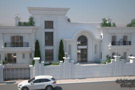 Réaménagement d'une villa aux Jardins de Carthage.