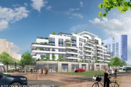 R+8 Colombes-Paris